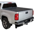 "( 6'6"" Bed ) 2018-2007 Toyota Tundra ( WITHOUT Deck Rail ) Lomax Tri-Fold Bed Cover (SKU: Lomax-B1050049)"