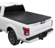 "( 6'6"" Bed ) 2018-2004 Ford F-150 ( Except Heritage ) Lomax Tri-Fold Bed Cover (SKU: Lomax-B1010029)"