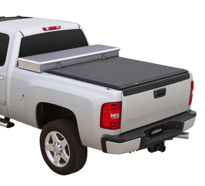 "( 8'0"" Bed ) 2018-2007 Toyota Tundra ( WITH Deck Rail )  Access Toolbox Tonneau Cover"