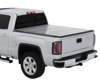 "( 6'6"" Bed ) 2018-2007 Toyota Tundra ( WITH Deck Rail ) Tri-Fold / Lomax Pro"