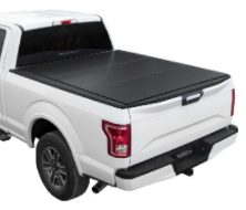 "( 5'6"" Bed ) 2018-2004 Ford F-150 ( Except Heritage ) Lomax Tri-Fold Bed Cover"