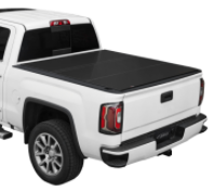 "( 5'8"" Bed ) 2018-2014 Chevy-GMC 1500 Full Size / Lomax Tri-Fold Bed Cover"