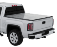 "( 5'8"" Bed ) 2018-2014 Chevy-GMC 1500 Full Size / Tri-Fold / Lomax Pro Diamond Plate"
