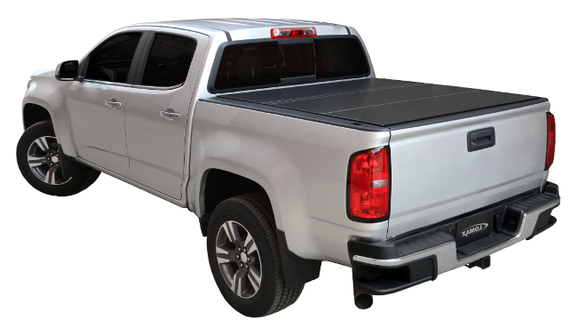 6 0 Bed 2018 2016 Toyota Tocoma Except Oem Hard Covers Lomax Tri Fold Bed Cover